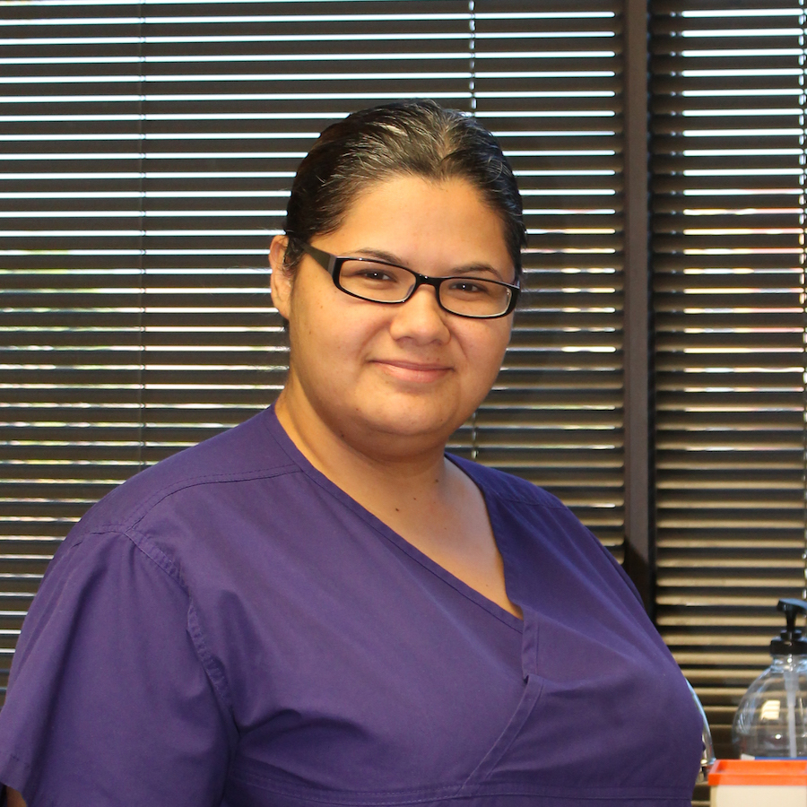 Erika, medical assistant at the Kingwood Office